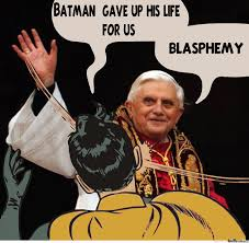 Batman Robin Meme - pope slapping robin by anthropoceneman meme center