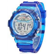 6306 sports date day display backlight alarm clock