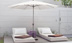World Market Patio Umbrella by How To Store A Patio Umbrella For Winter Overstock Com
