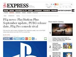is pubg on ps4 ps4 news playstation plus september update pubg release date