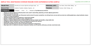 Sample Resume For Maintenance Worker by Social Worker Resume Sample Social Work Resume Sample Free