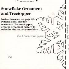 dimensional snowflake patterns patterns kid