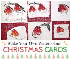 160 best christmas images on pinterest watercolor cards