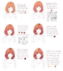 hair coloring tutorial by hiba tan deviantart com on deviantart