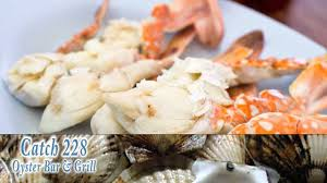 seafood restaurant in st simons island ga catch 228 oyster bar