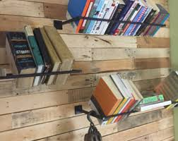 Wall Mounted Bookcase Shelves Shelves Wall Shelf Industrial Furniture Shelf Steampunk