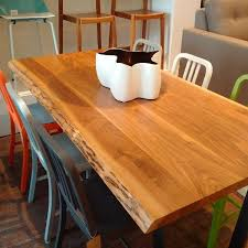 Dining Tables Canada Custom Solid Wood Dining Tables Made In Canada A Modern Space
