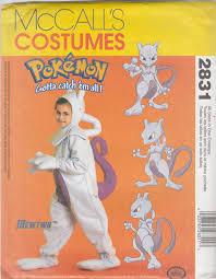Halloween Costumes Sewing Patterns Mccall U0027s Costumes 2831 Pokemon Gotta Catch U0027em Children U0027s