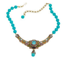 necklace beaded crystal images Heidi daus quot lavish layers quot beaded crystal drop necklace 8622912 jpg