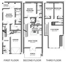 30a townhomes at seagrove heron floor plan