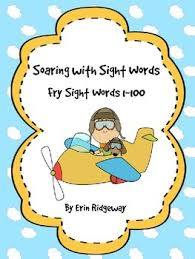free fry sight words checklist first 100 words by erin ridgeway tpt