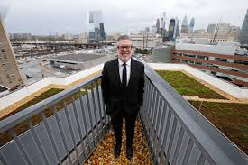 college president john fry as urban planner