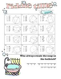 inscribed angles worksheet definition central and inscribed angles