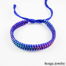 weave friendship bracelet images 6 mixed colors handmade weave rope string friendship bracelets jpg