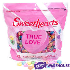 sweet hearts candy sweethearts tiny conversation candy hearts modern flavors 1lb bag