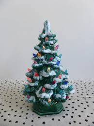 ceramic light up christmas tree fashioned ceramic christmas tree these remind me of