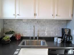 White Kitchen Backsplash Tile by Transform White Backsplash Tile Ideas In Home Design Ideas With