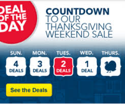 buy has two black friday deals in thanksgiving countdown sale today