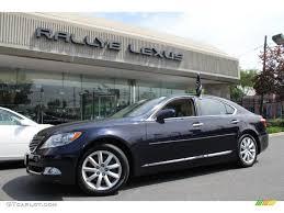 lexus ls 460 black 2009 black sapphire blue pearl lexus ls 460 awd 49695114
