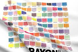 crayon color chart crayola crayons graphic design palette