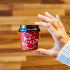 tim hortons on express o your espresso skip the line by