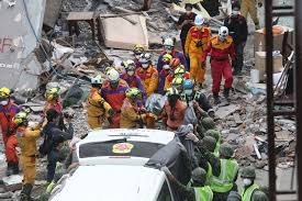 earthquake update update death toll after taiwan s hualien earthquake rises to 16