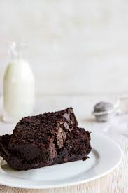 dense chocolate loaf cake chocolate hits