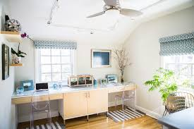 Home Office Curtains Ideas Minka Ceiling Fans In Home Office Transitional With Office