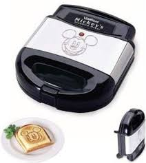 Toaster With Sandwich Maker Mickey Mouse Sandwich Maker
