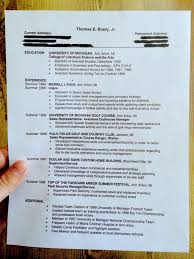How To Make Resume With No Job Experience by Here U0027s Tom Brady U0027s College Résumé Business Insider