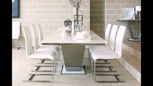 Oval Marble Dining Table Affordable Marble Dining Table For 4 Brown Leather Dining Chairs
