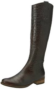 gabor womens boots sale gabor 728 carmello 22 brown womens boots s shoes