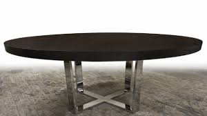sophisticated image of oak wood expandable dining table round