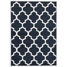 sancerre navy trellis indoor outdoor rug