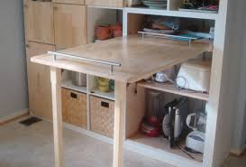 table build a flip down kitchen table awesome fold down table