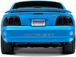 96 98 mustang tail lights axial mustang black euro tail lights 49127 96 98 all free shipping