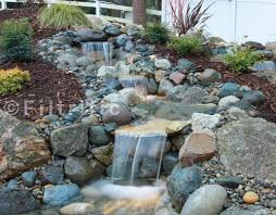 Waterfall For Backyard by Pondless Waterfall Kits Waterfalls With A Clog Free Reservoir