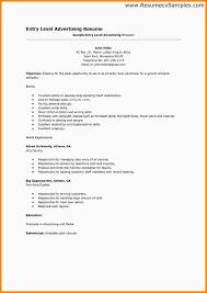 entry level resume entry level mechanic resume sample
