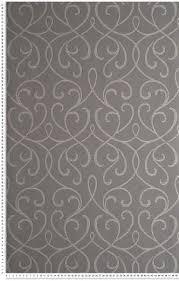 papier peint lutece chambre entrelacé baroque gris étain métallisé papier peint lutèce