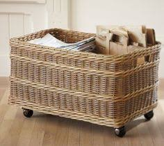 diy pottery barn knock off underbed basket storage pottery and