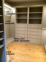 closet lighting mary sherwood lifestyles