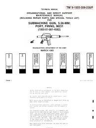 tm 9 1005 309 23 and p cartridge firearms weapon design