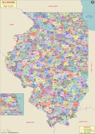 Wake County Zip Code Map by Illinois Jpg