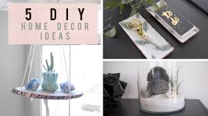 home decor images 5 diy home decor ideas for spring summer ann le youtube