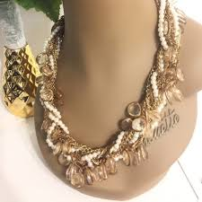 body jewelry necklace images Gold pearl corded costume jewelry necklace poshmark jpg