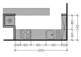 superficie minimum chambre 7 plans pour une cuisine ouverte de 4 à 8 m2 côté maison