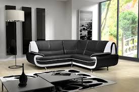 canapé design noir et blanc canapé d angle design como canapé d angle canapé salon