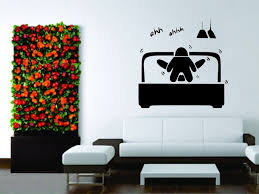 la chambre du sexe papier peint vinyle decal sticker décor de sexe femme amour