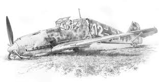 fallen eagle pencil pencil sketches aviation art by geoff
