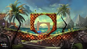 Beautiful Art Pictures by Green Hill Sonic The Hedgehog Fanart By Danielbogni On Deviantart